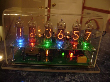 6 Digit IN-14 Nixie Clock