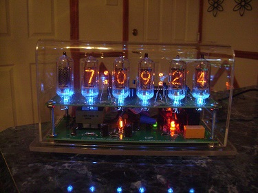 6 digit Nixie clock ZM570s